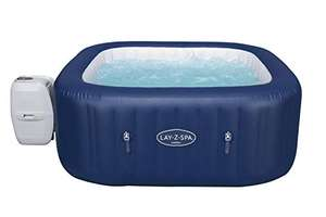 Lay-Z-Spa Hawaii Hot Tub, 140 AirJet Massage System Inflatable Spa £552 at Amazon