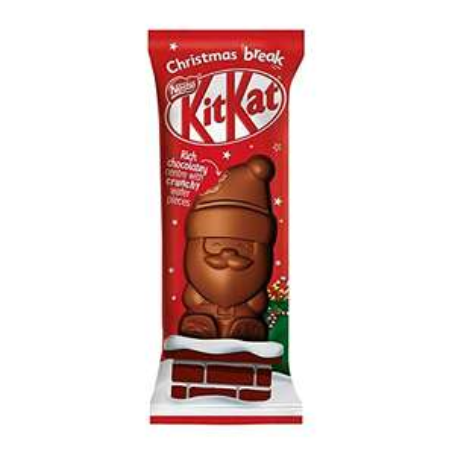 Kit Kat Santa Centre Crunchy Wafer (Pack of 24) - £6.81 prime / £11.30 non prime at Amazon