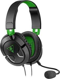 Turtle Beach Recon 50X Gaming Headset - Xbox One, PS4, PS5, Nintendo Switch, & PC - £14.99 (+£4.49 Non Prime) delivered @ Amazon
