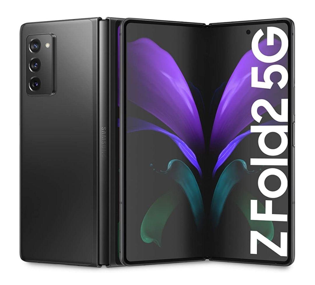 Samsung Galaxy Z Fold2 5G Mystic Black Unlocked Smartphone - £1098.63 @ Amazon