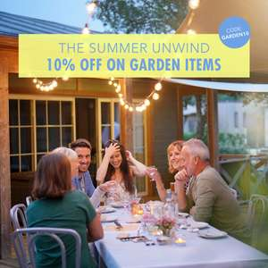 10% off Garden Items, using discount code - includes Garden Furniture, BBQ's and more @ Aosom