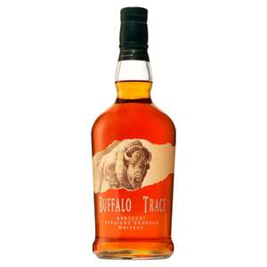 Buffalo Trace bourbon 70cl for £18 at Sainsburys (min purchase / delivery fee)