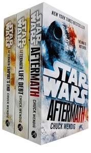 Star Wars Aftermath Trilogy 3 Books by Chuck Wendig (Arrow Books) for £11.49 delivered @ Books2Door