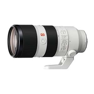 Sony FE 70-200 mm f/2.8GM OSS | Full-Frame, Super Telephoto Camera Lens (SEL70200GM) £1929 with voucher at Amazon