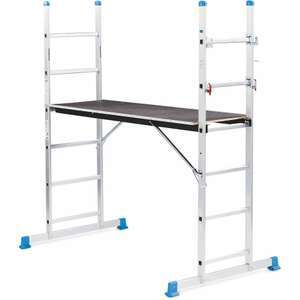 3-in-1 Scaffold And Ladders £69.99 + £9.95 delivery with 3 year warranty = £79.94 delivered @ Aldi