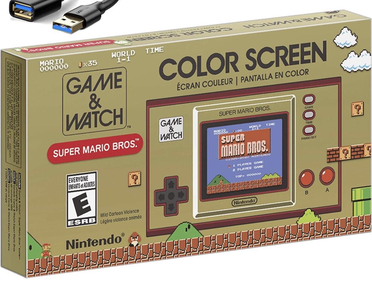 Game & Watch: Super Mario Bros £34.99 click & collect @ Smyths