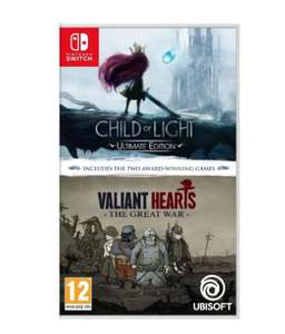 Child of Light and Valiant Hearts Double Pack - Nintendo Switch £12.95 @ The Game Collection