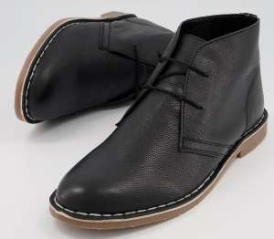 Office Benny Chukka Boots in black leather for £15 click & collect (£3.99 postage mainland UK only) @ Office