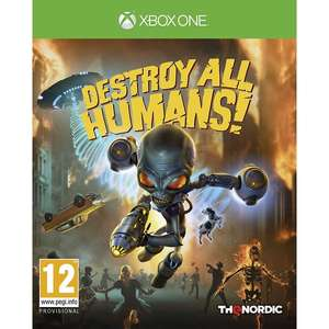 Destroy All Humans! Xbox One Game £12.28 Delivered using code @ 365 Games