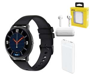 Xiaomi IMILAB Smartwatch + Prevo 10,000mAh Powerbank + Prevo X12 Headphones Bundle - £39.46 Delivered @ More Computers