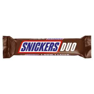 2 Snickers Duo for £1 at Farmfoods (Sutton)