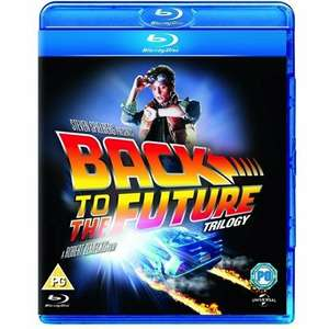 Back to the future trilogy (Blu-ray) £3 (£1.95 delivery) @ CeX
