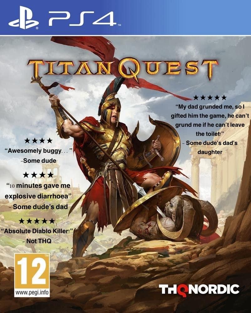 Titan Quest (PS4/XONE) - £2.92/£2.88 @ 365games