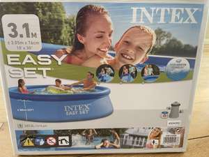 Intex 10ft paddling pool with filter £40.79 (Members Only) instore at Costco Leicester