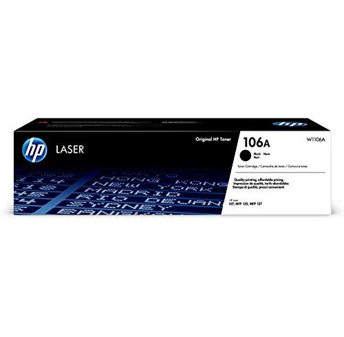 HP W1106A 106A Original Laser Toner Cartridge, Black, Single Pack £29.42 @ Amazon