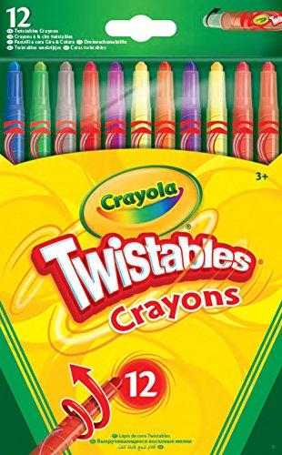 Crayola Twistables Crayons, Pack of 12 - £2.49 (+£4.49 Non-Prime) @ Amazon
