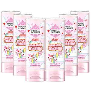 Imperial Leather Shower Gel Marshmallow Body Wash 6 x 250 ml £5.40 (+£4.99 non Prime) £4.05 S&S & voucher @ Amazon