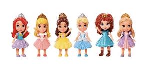 Disney Princess 3 Inch Mini Doll 6 Pack - £6.56 @ Tesco (Milngavie)