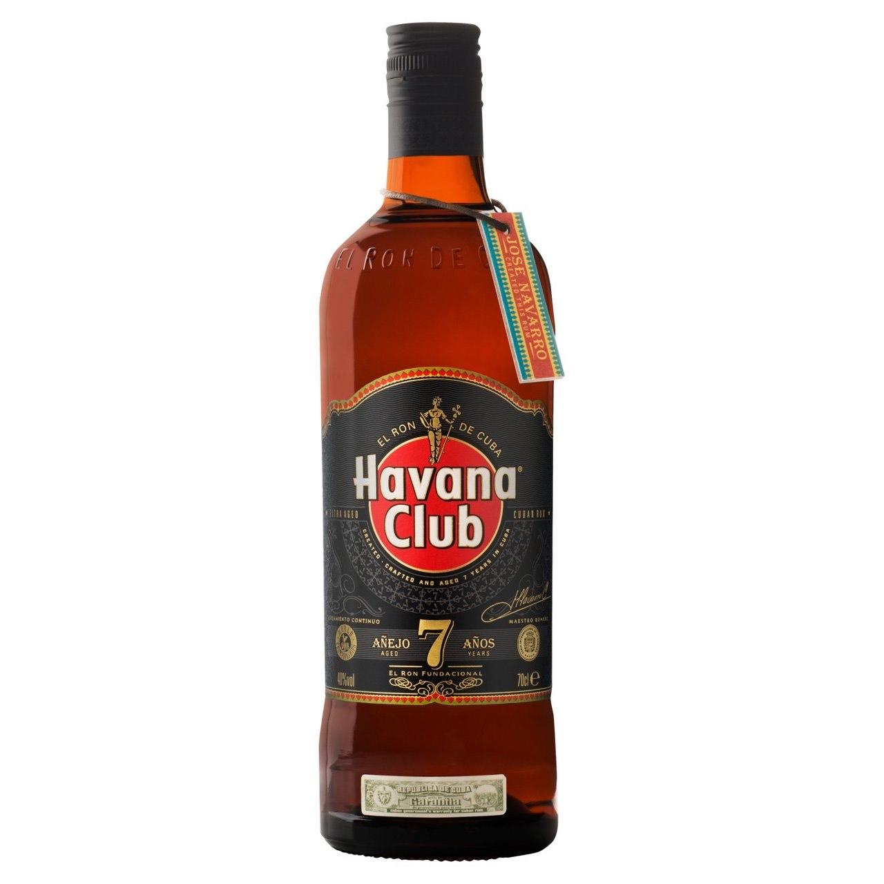 Havana Club 7 Year Old Cuban Rum (70cl) @ Morrison's - £20