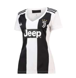 Womens Adidas JFC Juventus Home Jersey Shirt Now £8.99 delivery is £4.99 or Free with delivery pass or £75 spend @ M&M Direct
