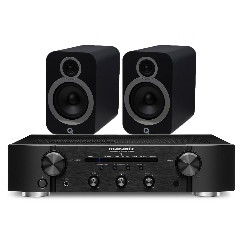 Marantz PM6007 Integrated Amplifier with Q Acoustics 3030i Bookshelf Speakers £679 @ Peter Tyson Audio Visual