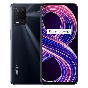 realme 8 5G: 4 + 64GB - from £179 / 6 + 128GB - from £229 @ realme UK (starting on 18th May)