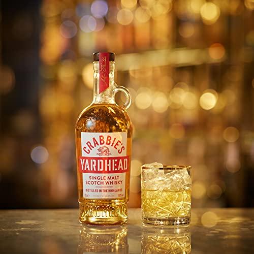Crabbie's Yardhead Single Malt Whisky, 70 cl £16 (£12 with S&S / +£4.49 non-prime) @ Amazon