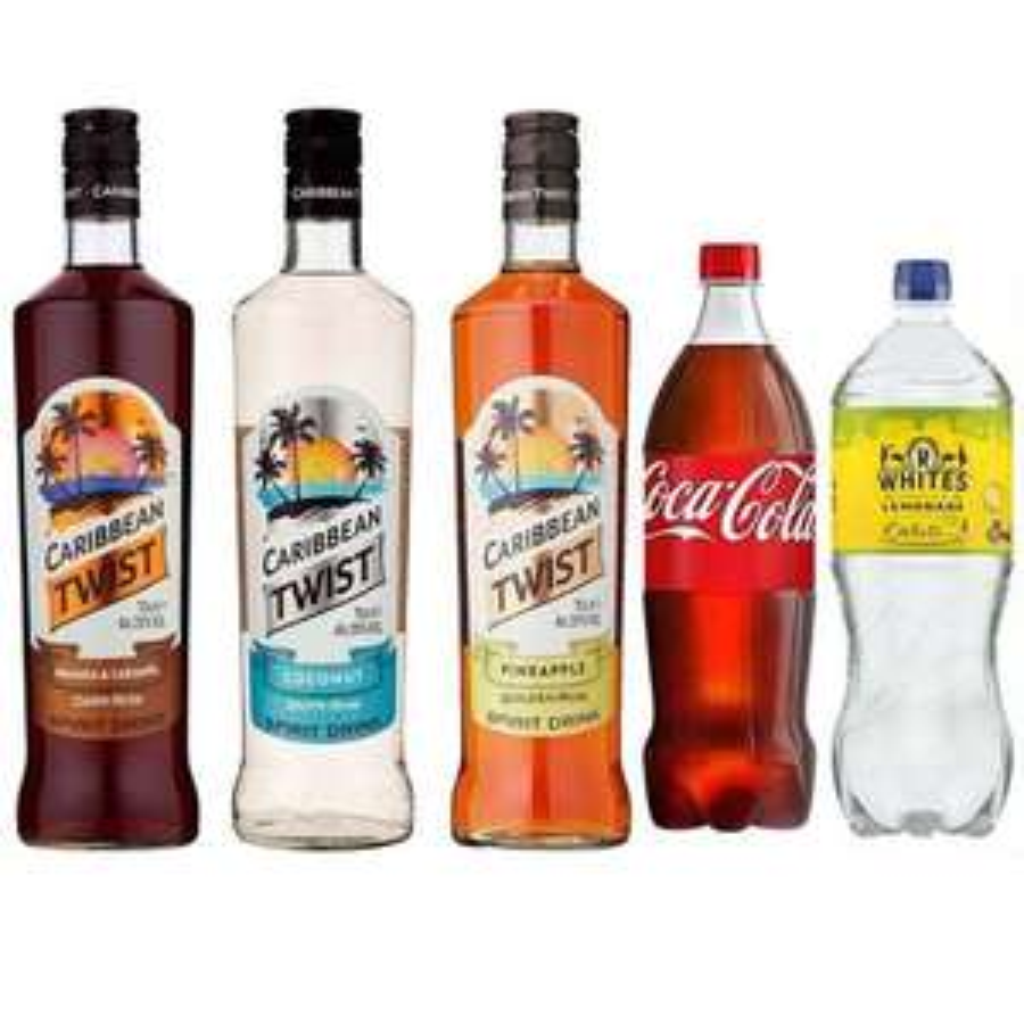 Summer Rum Cocktails bundle £30 @ The Drop Store