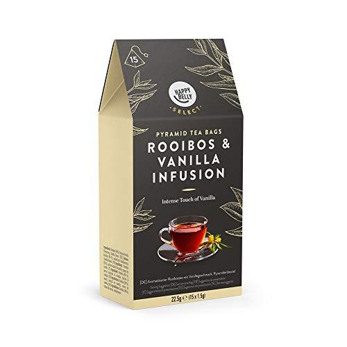 Amazon Brand - Happy Belly Select Herbal Tea Teabags Vanilla 4x15 Pyramides £2.36 (+£4.49 non prime) @ Amazon