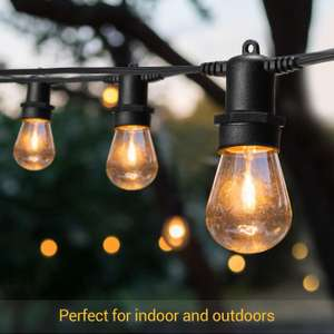 OxyLED 52.5ft Outdoor Garden LED String Lights LED £28.49 Sold by TSMART and Fulfilled by Amazon