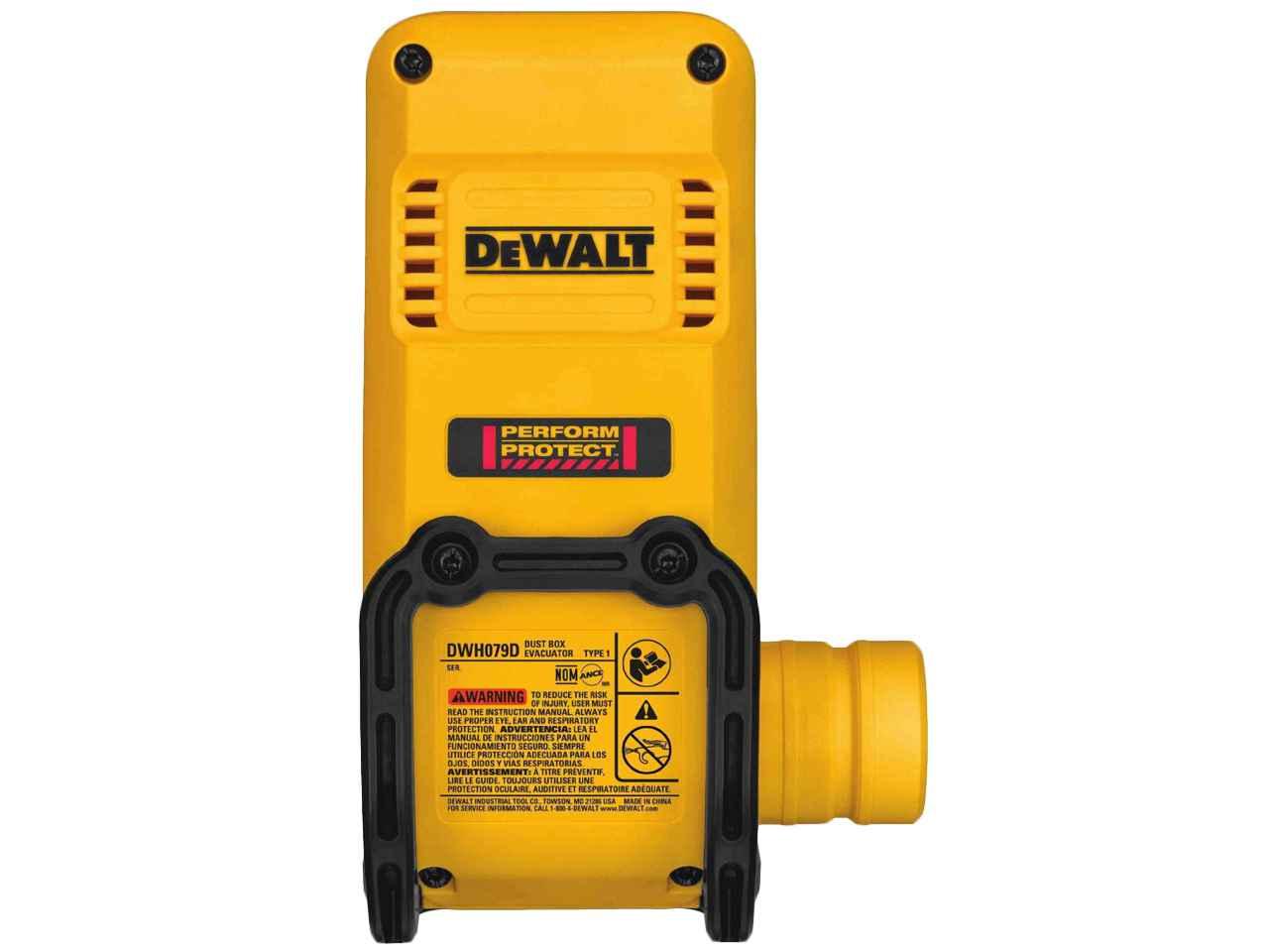 DeWalt DWH079D-XJ Dust Box Evacuator £7.55 with code at FFX