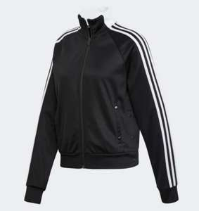 Women's Adidas ID 3 Stripes Snap Track Top Now £19.11 with code on Adidas App Free delivery for creators club members @ Adidas App