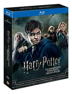 Harry Potter Collection (Standard Edition) (8 Blu-Ray) £22.77 delivered (UK Mainland) @ Amazon Italy