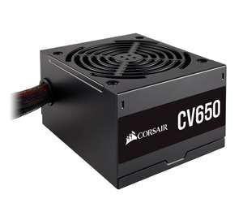 CORSAIR CV650 ATX PSU - 650 W 80 PLUS Bronze 120mm fan - £32.99 Delivered (Using Code) @ Currys & PCWorld