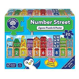 Orchard Toys Number Street Jigsaw Puzzle £5.40 (Prime) + £4.49 (non Prime) at Amazon