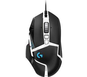 LOGITECH G502 Special Edition Hero Optical Gaming Mouse £31.99 delivered using Code @ Curry's & PC World