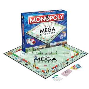 Monopoly The Mega Edition Board Game - £19.78 Delivered with code @ IWOOT