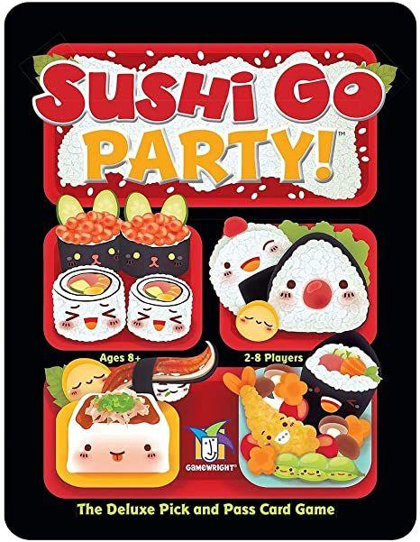 Sushi Go Party card game £14.96 at Amazon (plus £4.49 non-Prime)