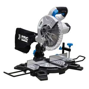 Mac Allister MMIS210C-B 1500W 220-240V 210mm Compound mitre saw for £50 with B&Q Club (£55 without) delivered @ B&Q