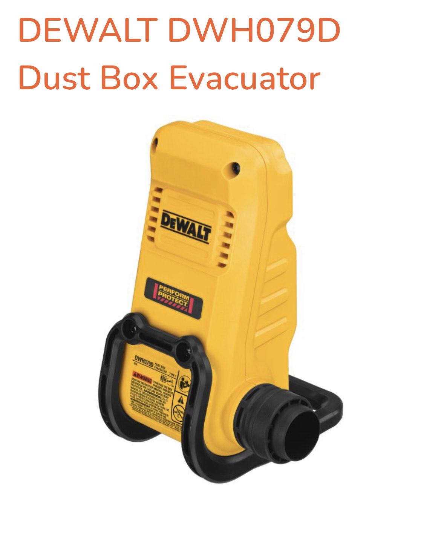 DEWALT DWH079D Dust Box Evacuator - £2.95 + £5 Delivery @ ToolStoreUK