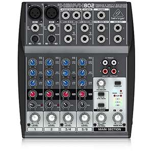 Behringer 802 8 Input 2 Bus Mixer £26.77 delivered at Amazon