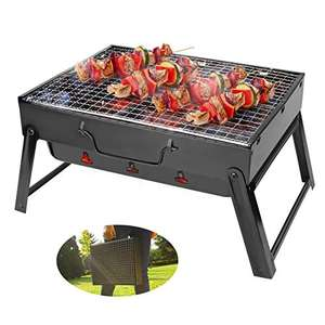 Bestcool Portable charcoal barbecue grill (43 x 29cm cooking area) for £22.55 delivered using voucher @ Aceshop EU / Amazon