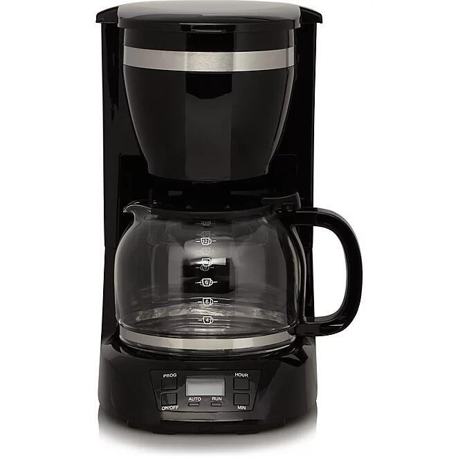 George Home Digital 900W 1.5L Coffee Machine - £12 @ Asda