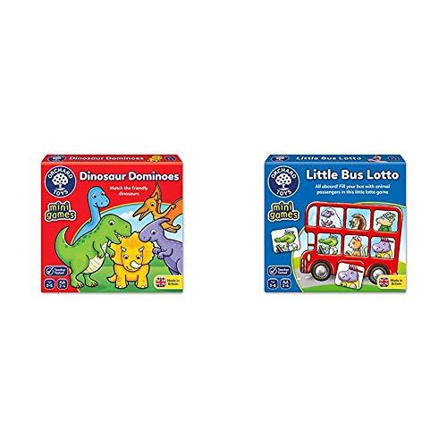 Orchard Toys Dinosaur Dominoes Mini Game & Toys Little Bus Lotto Mini Game £7.51 (Prime) + £4.49 (non Prime) at Amazon