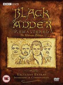 Blackadder Remastered - The Ultimate Deluxe Edition [DVD] 6 Disc Set £9.99 (Prime) + £2.99 (non Prime) at Amazon