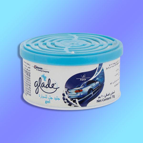12 X Glade Mini Gel Aqua Fragrance 70g Air Fresheners £5 @ Yankee Bundles