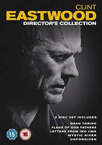 (preowned) Clint Eastwood The Director's Collection Dvd Set (5 Films) £3.23 with code @ worldofbooks