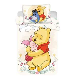 Winnie the Pooh, Baby Bed Duvet Cover Set, Cotton, 100 x 135 cm £12.25 (Prime) + £4.49 (non Prime)(UK Mainland) sold by Amazon EU at Amazon