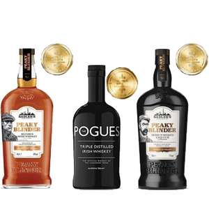 Gold Medal Award Winning Irish Whiskey Bundle £40 (UK Mainland) delivered at The Drop Store