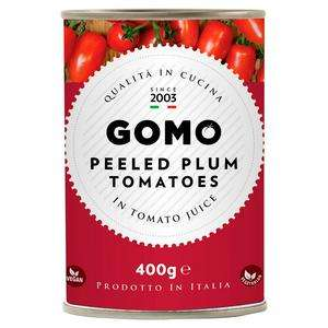Gomo Peeled Plum Tomatoes 400g - 20p @ Sainsbury's